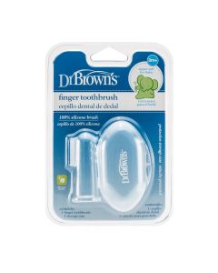 Dr. Brown's silikonska četkica za zube 3+mj ,s kutijicom