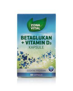 Zona Vital Betaglukan + vitamin D3 kutija