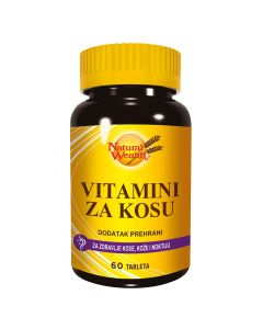 Natural Wealth Vitamini za kosu 60 tableta