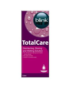 Blink Total Care otopina za kontaktne leće, 120 ml