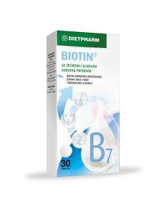 Dietpharm Biotin 30 tableta