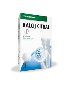 Dietpharm Kalcij citrat + D