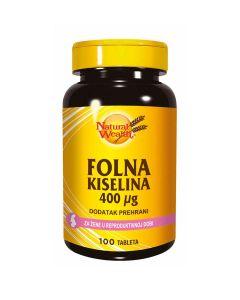 Natural Wealth Folna kiselina 400 µg