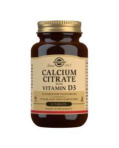Solgar Kalcij citrat plus vitamin D