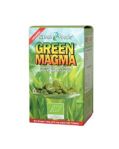 Zelena magma tablete