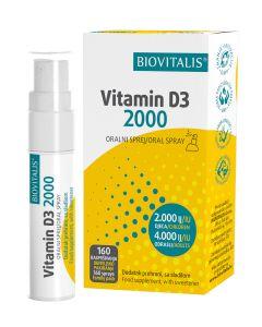 Biovitalis Vitamin D3 20 ml 20 ml