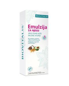 Biovitalis Emulzija za njegu vrlo suhe kože sklone atopiji  150 ml