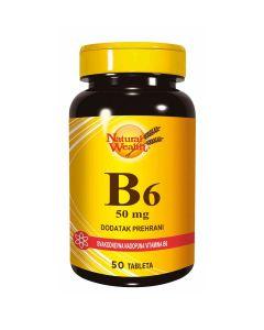 Natural Wealth B6 50 mg 50 tableta
