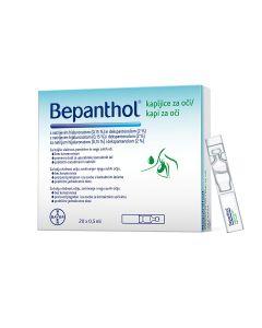 Bepanthol® kapi za oči, 20 spremnika po 0,5ml