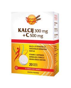 Natural Wealth Kalcij 300 + C 500