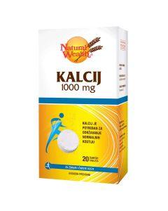 Natural Wealth Kalcij 1000