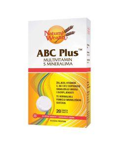 Natural Wealth ABC Plus™ šumeće tablete