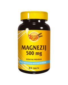 Natural Wealth Magnezij 500 Mg