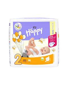 Bella Baby Happy dječje pelene Mini 78 kom