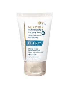 Ducray Melascreen Photo-aging global njega za ruke SPF50+