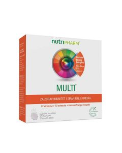 Nutripharm® Multi  20 šumećih tableta
