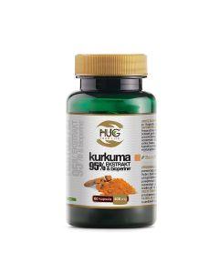 HUG Kurkuma 95 ekstrakt BioPerine 60 kapsula