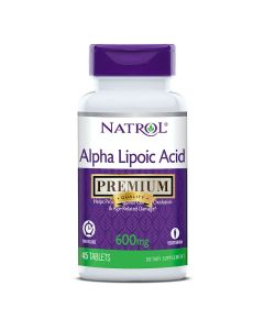 Natrol Alfa lipoična kiselina 600 mg