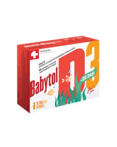 Babytol D3 + DHA Omega kapsule
