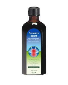 Smokers Relief otopina za oralnu primjenu s islandskim lišajem, kamilicom i matičnjakom