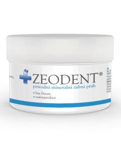 Zeodent prah 95 g Zeodent prah koristi se za higijenu zubi i usne šupljine