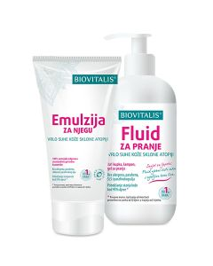 Biovitalis SET 2u1 Emulzija 150 ml i Fluid 250 ml