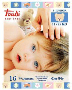 Trudi Pelene Dry Fit, Junior 11-25 kg, 16 komada