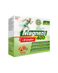 Magnezij 400 + B complex 20 vrećica