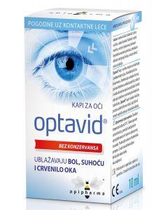 Optavid kapi za oči 10 ml