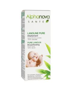 Alphanova Krema za bradavice Sante Lanolin  40 ml