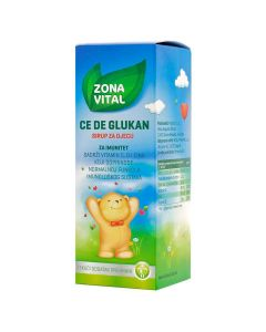 Zona Vital Ce De Glukan sirup za djecu 150 ml