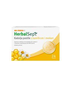 HerbalSept Kadulja pastile s kamilicom i medom