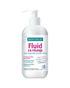 Biovitalis Fluid za pranje vrlo suhe kože sklone atopiji