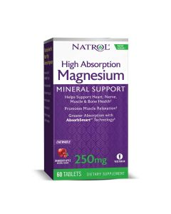 Natrol Magnesium High Absorption 60 tableta