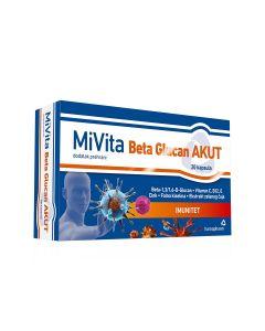 MiVita Beta Glucan Akut 20 kapsula