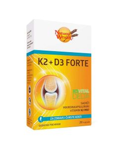 Natural Wealth K2+D3 Forte