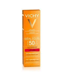Vichy Ideal Soleil krema za zaštitu od sunca s anti-age efektom SPF 50