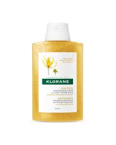 Klorane hranjivi šampon s voskom Ylang-Ylanga