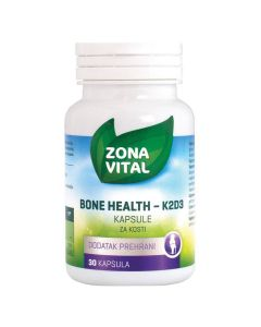 Zona Vital Bone Health K2D3 kapsule za kosti 30 kapsula