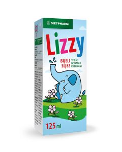 Dietpharm Lizzy bijeli sljez 125 ml