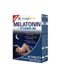 Pharmavital Melatonin + Vit B6 90 tableta