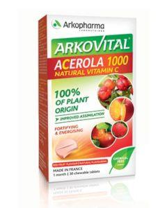 Arkovital® Acerola 1000 30 tableta za žvakanje