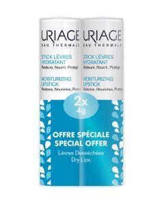 Uriage Duo pakiranje Stik za usne 4g + 4g (50% popusta na drugi proizvod)