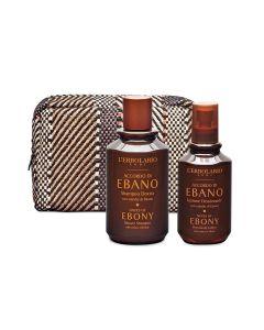L'Erbolario Accordo di ebano (ebanovina) kozmetički set za tijelo sa šamponom