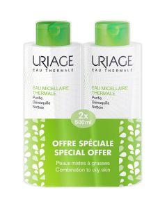 Uriage Duo pakiranje Micelarna voda za čišćenje mješovite/masne kože