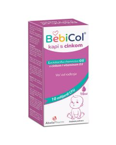 BebiCol s cinkom kapi 10 ml kapi