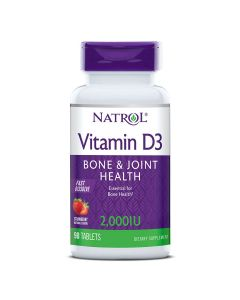 Natrol Vitamin D3 2000 IU 90 tableta