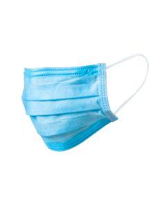 Maska s gumicom jednokratna plava 50 komada