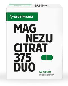 Dietpharm Magnezij citrat 375 Duo kapsule 50 kapsula