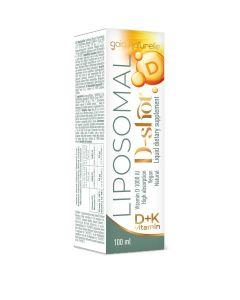 Vitamin D3 1000 IU + K2 liposomalni 250 ml